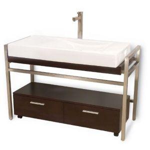 Gabinete rectangular con una cubierta