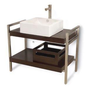 Gabinete rectangular con doble cubierta